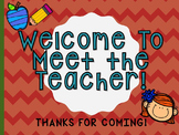 Meet the Teacher Slideshow Presentation