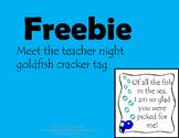 Meet the Teacher Snack Tags
