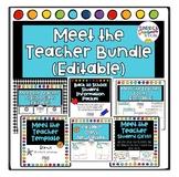 Meet the Teacher Station Bundle (EDITABLE)
