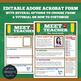 Meet the Teacher, Student Teacher, Student Flyer or Brochure BUNDLE