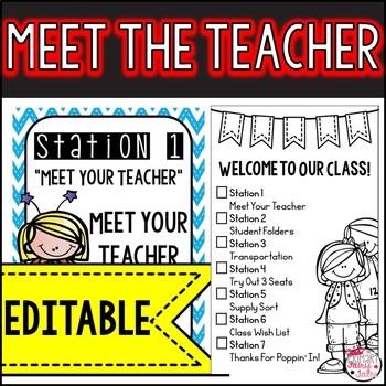 Meet the Teacher: Super Hero Themed