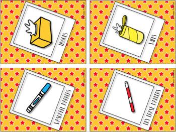 Meet the Teacher Supply Signs {Editable}