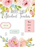 Meet the Student Teacher Template