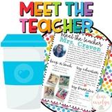 Meet the Teacher Template {Color Pop Theme}