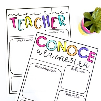 Meet the Teacher Template Editable | Back to School Night | Teacher Letter