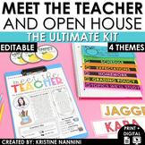 Meet the Teacher Template Editable - Back to School Night - Open House