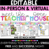 Meet the Teacher Template Editable - Back to School Night - Open House