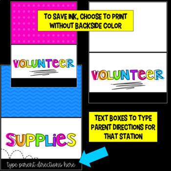 Back to School Night | Meet the Teacher Templates Editable | Bright Colors Decor