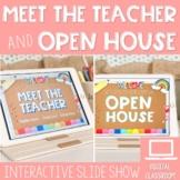 Meet the Teacher Open House Slides