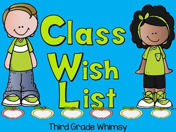 Meet the Teacher Wish List: Apples