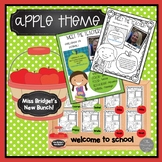Meet the Teacher and Meet the Student EDITABLE Materials f