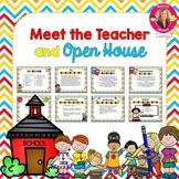 Meet the Teacher and Open House EDITABLE PowerPoint {School Themed}