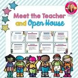 Superhero Themed Meet the Teacher and Open House EDITABLE PowerPoint