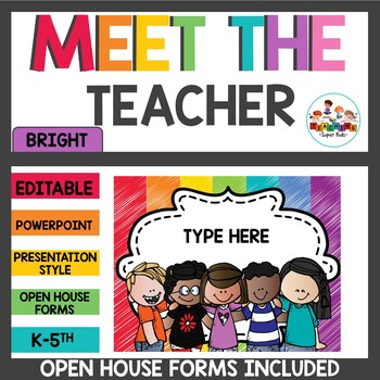Meet the Teacher and Open House Forms