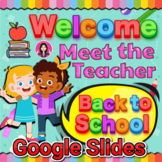 Meet the Teacher and Virtual Expectations | Back to School in Google Slides