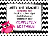 Meet the Teacher! (back to school resource!)