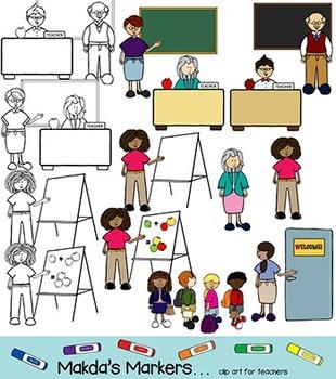 Meet the Teacher (clip art for teachers)