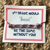 Meet the Teacher gift for students Nautical -knot be the s