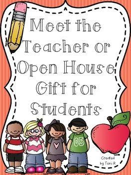 Meet the Teacher or Open House Gift - Basic