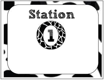 Meet the Teacher or Open House Stations