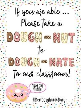 Meet the Teacher/Back to School Classroom Supply Wish List