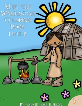 Meet the Wampanoag Coloring Book-Level B