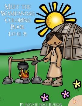 Meet the Wampanoag Coloring Book-Level B