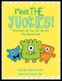 Meet the Yuckies (Resources for ew, ue, and oo Spelling Patterns)