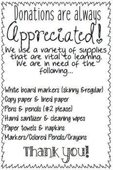 Meet the teacher flyers-communication flyers-parent flyers