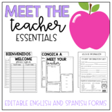 Meet the teacher pack