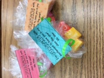 Meet the teacher treat bags