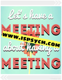 Meeting About Meeting Quote Printable
