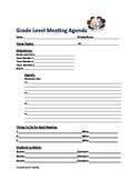 Meeting Agenda Template-Printable