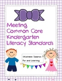 Meeting Common Core Kindergarten Literacy Standards