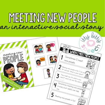 Meeting New People - Interactive Social Story