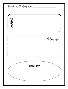 Meeting Notes Printable