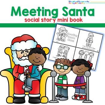 Meeting Santa Claus Social Story