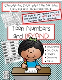Meeting and Exceeding Teen Number Standards-Compose and De