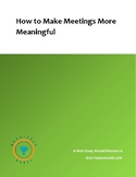 Meetings Organizer