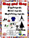 Meg and Mog Flashcards, Mini-cards and Matching cards