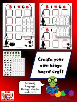 Meg and Mog - Bingo games and craft - English through stories and craft