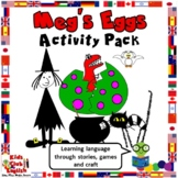 Meg and Mog - Meg's Eggs Activity Pack - Crafts, games, worksheets