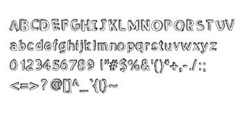 Meg's Block Font