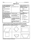 Mega Math 6 Quizzes 41-50