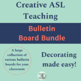 Mega ASL Bulletin Board Bundle - American Sign Language