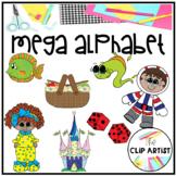Alphabet Mega Clip Art