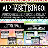 Mega Alphabet BINGO Pack! (4 Alphabet BINGO's in ONE Pack!)