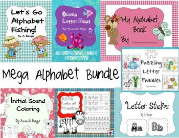 Mega Alphabet Bundle
