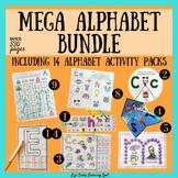 Mega Alphabet Bundle: including 14 alphabet activity packs