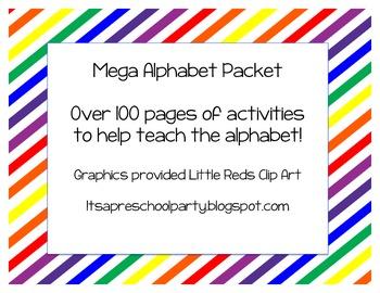 Mega Alphabet Learning Bundle